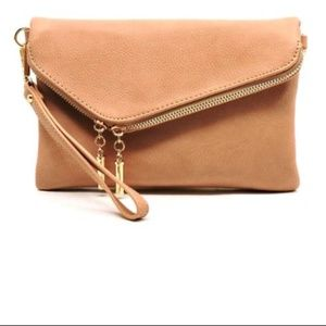 Handbags - 👻PINKY TAUPE- Envelope Foldover Clutch Purse